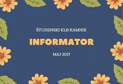 E-informator MAJ 2017