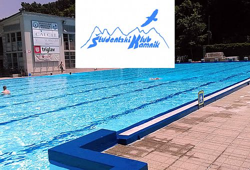 Plavanje v bazenu Kamnik – ŠKK