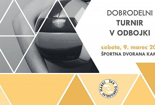 ŠKK DOBRODELNI MAREC 2019: TURNIR V ODBOJKI