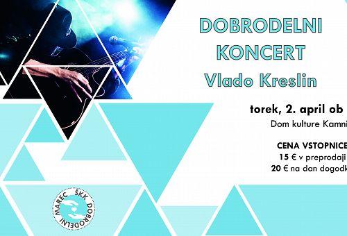 ŠKK Dobrodelni marec: Zaključni koncert Vlado Kreslin