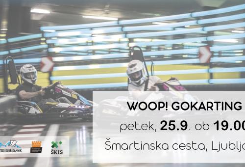 WOOP! Karting v Ljubljani