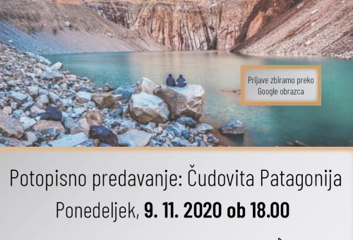 Potopisno predavanje – Čudovita Patagonija