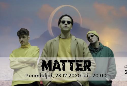 Online prednovoletni Matter koncert
