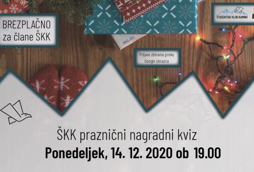 ŠKK praznični nagradni kviz