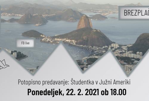 Potopisno predavanje: Študentka v Južni Ameriki
