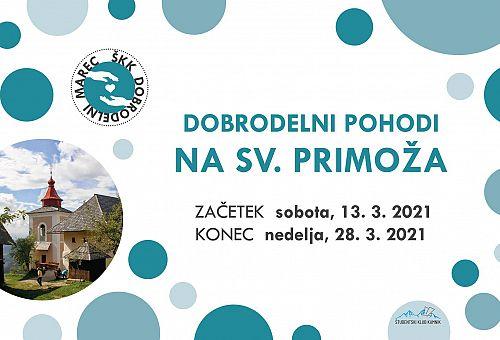 Dobrodelni marec: Pohodi na Sv. Primoža