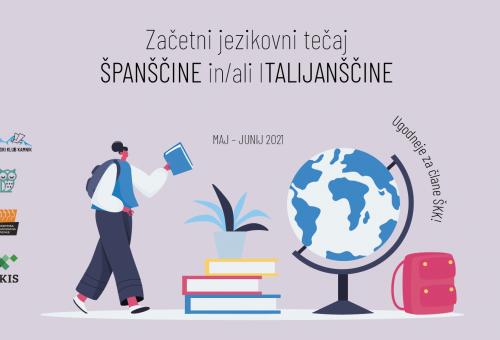 Začetni tečaj španščine in italijanščine