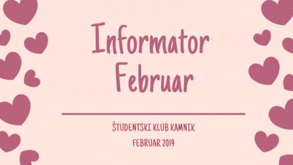 Informator FEBRUAR