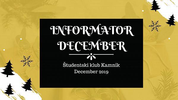 Informator DECEMBER